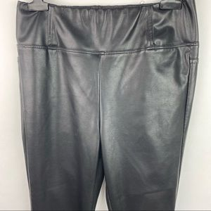 MOTHER Pants - Mother got chills faux leather the sandy leggings